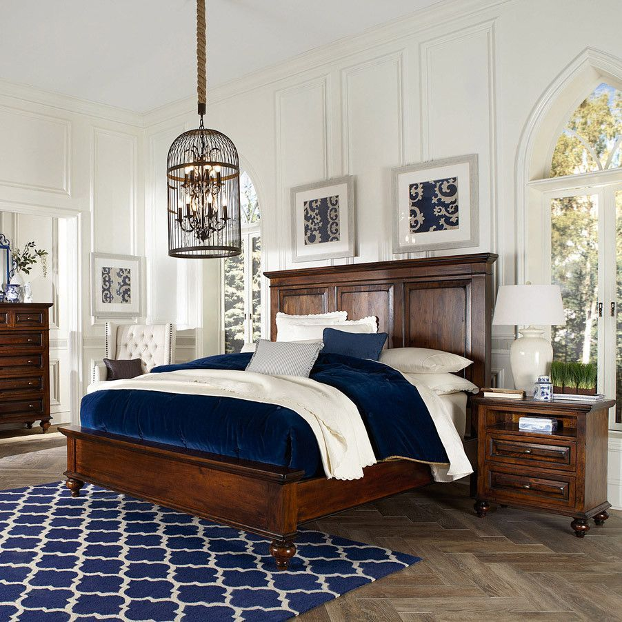 Tuscany Bedroom Furniture: The Tuscan Bedroom Collection Reflects The Warmth Of The