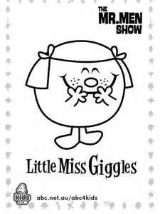 Little Miss Coloring Pages Coloring Pages   June projects ...