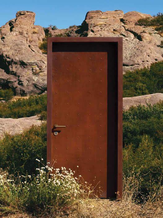 Charmant Neoporte Doors   Era Finish Pre Weathered CorTen Steel Doors And Frames