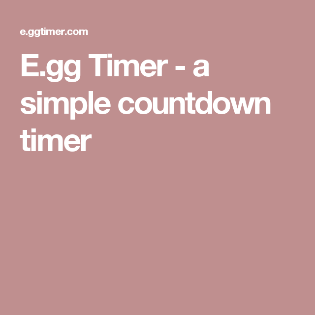 additional educational tool egg timer is an interactive timer that