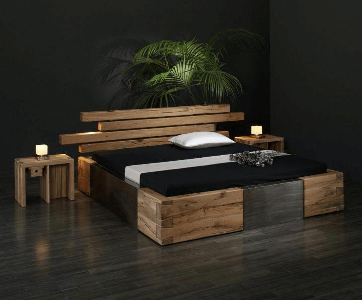 Schlafzimmer rustikal dekorieren | Schlafzimmer Deko Ideen ...