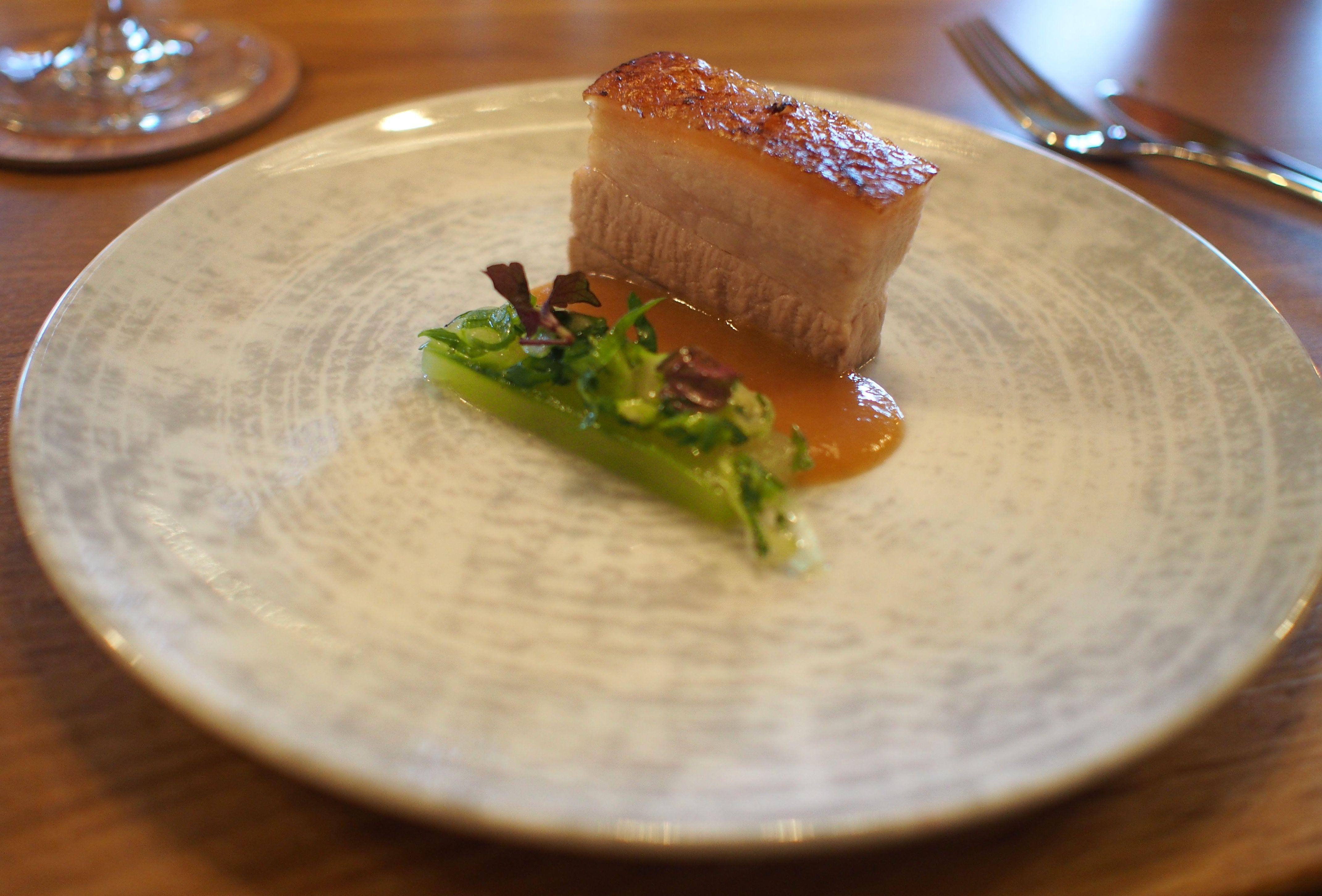Schweinebauch Im Restaurant Louis By Thomas Martin Hafencity