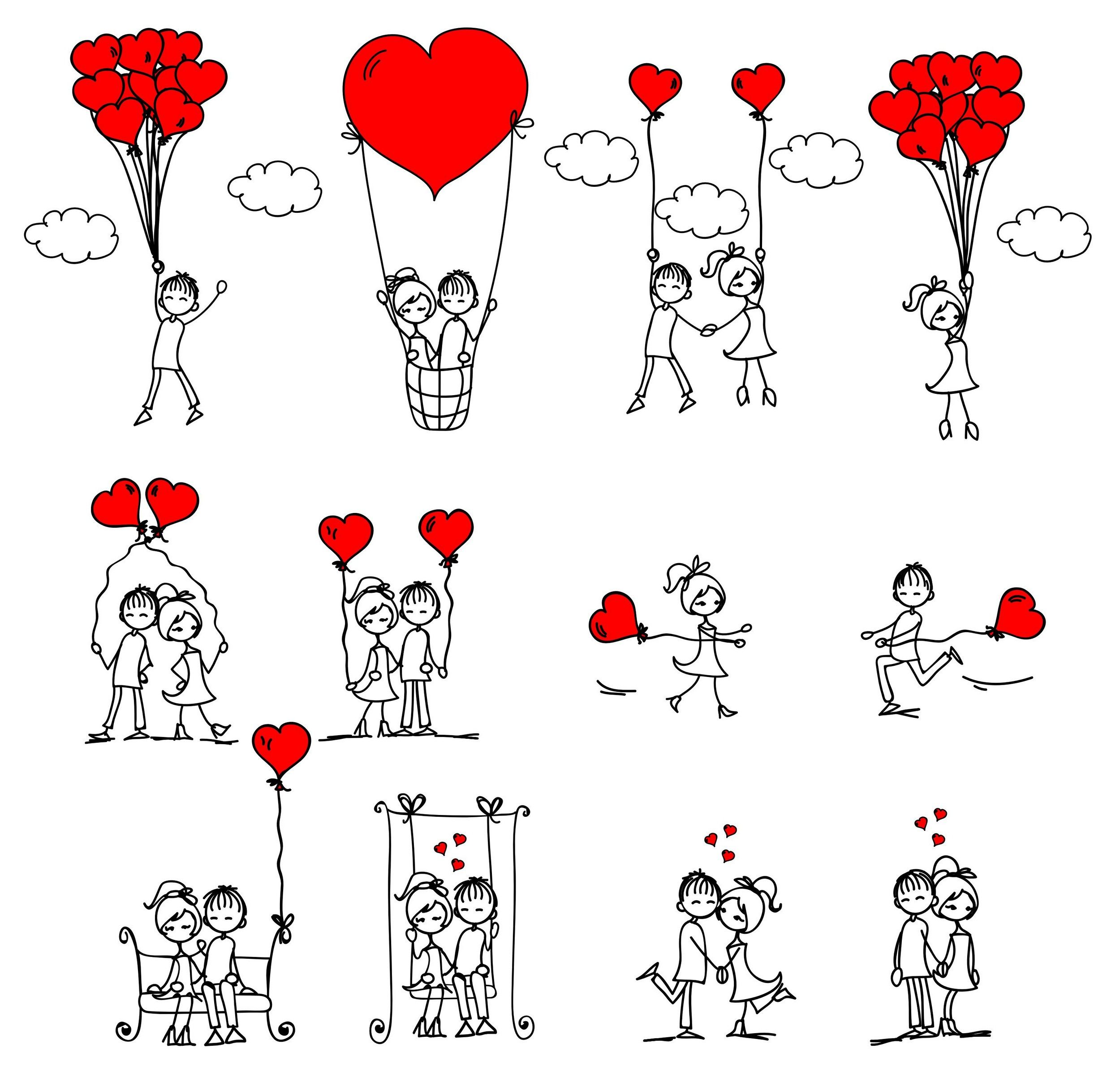 love illustration - Pesquisa Google | corações | Pinterest ...