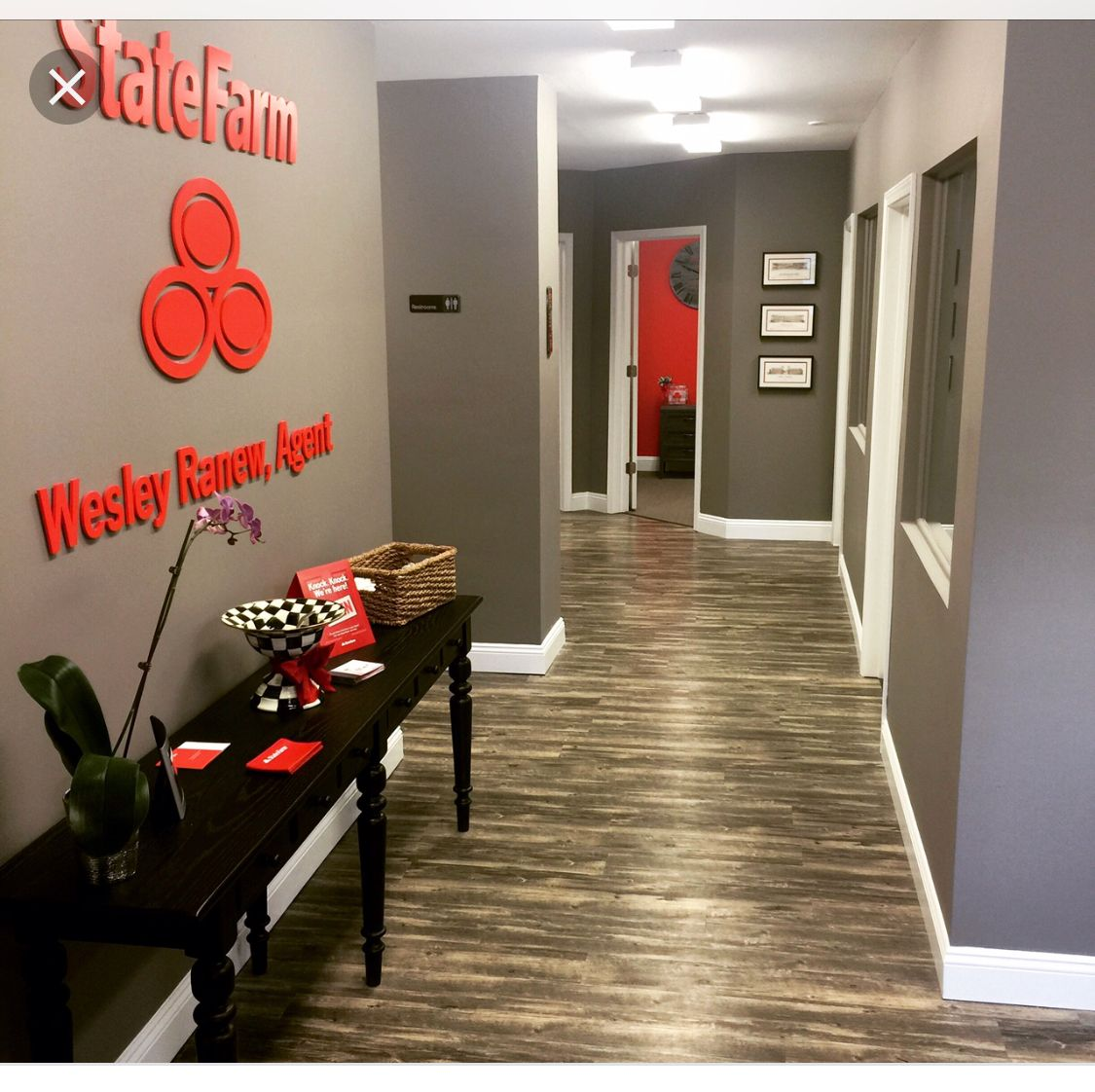 State farm office by Deanna Newsom on Office remodel ideas