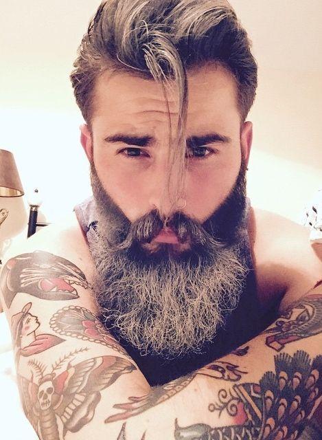 Amateur hookup pics men beards pierced