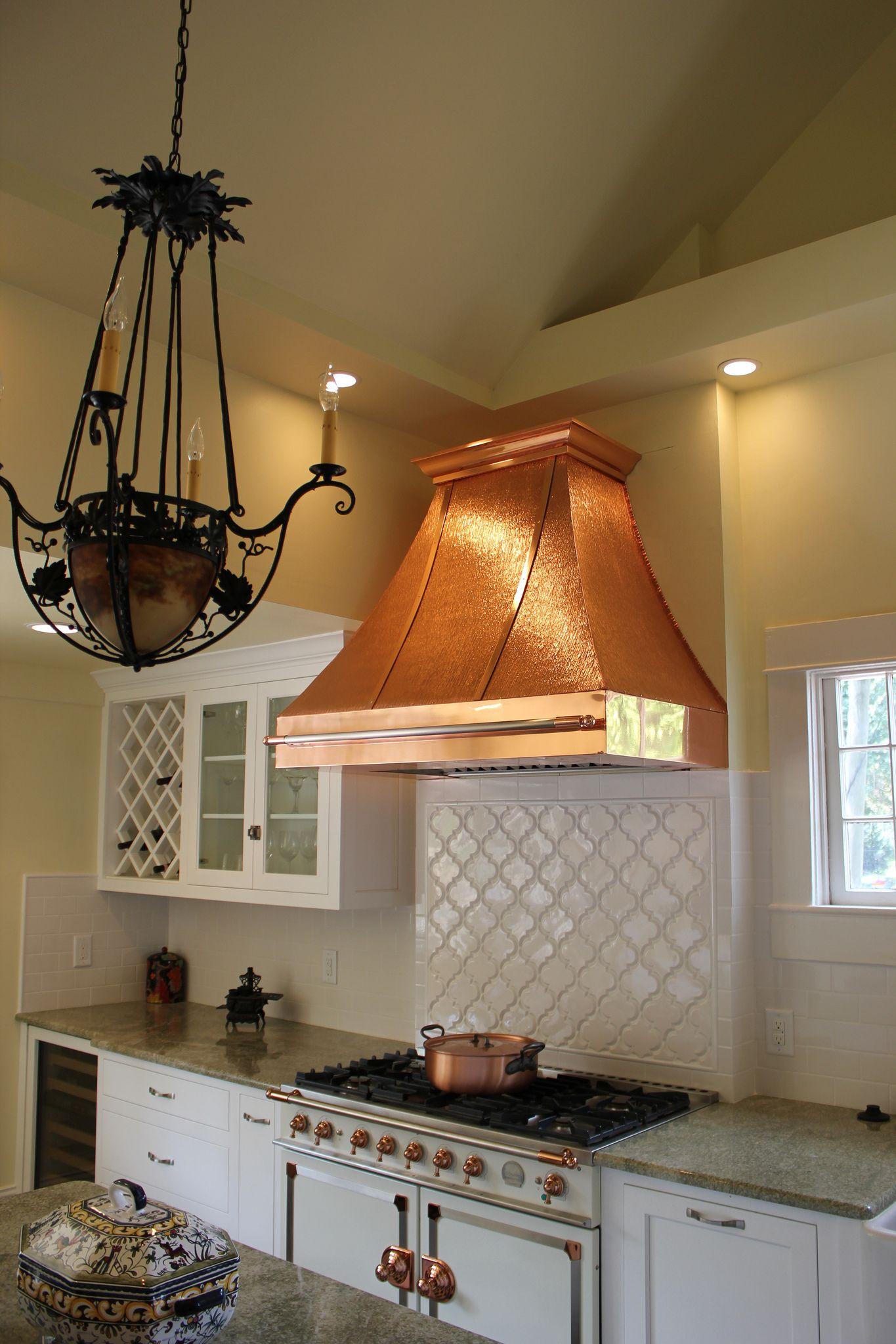 Color Copper Photo Gallery Copper range hood, Kitchen