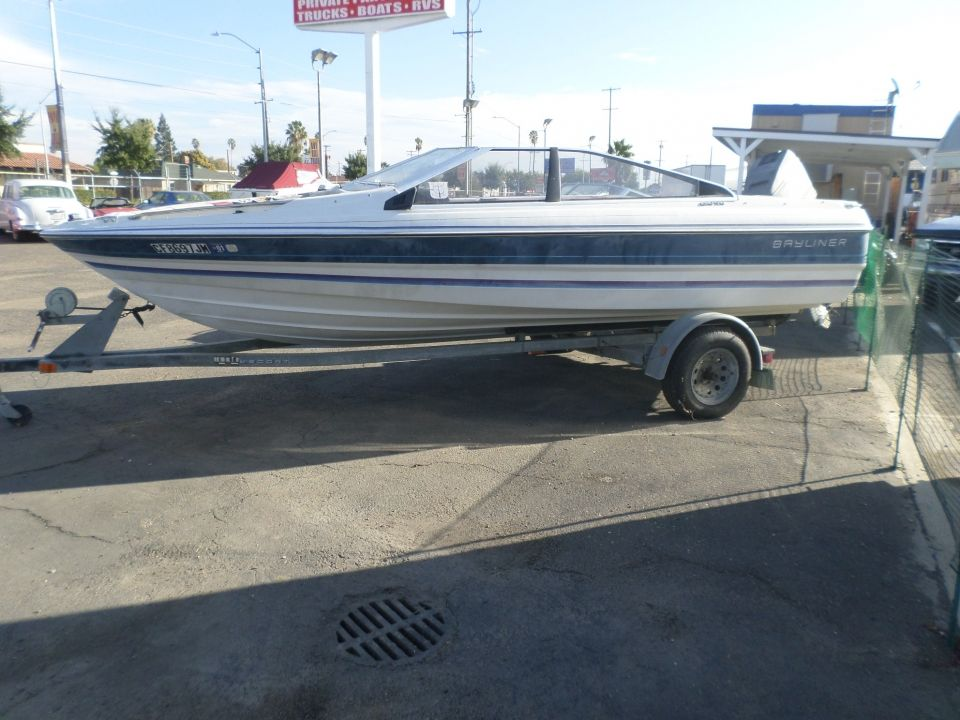 1987 Bayliner Capri Open Bow | Boats | Boat, Boats for sale