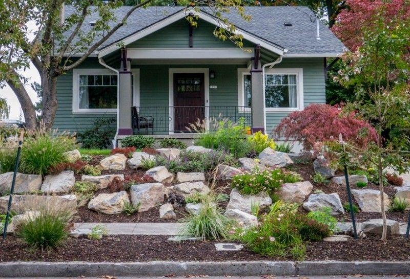 25 Rock Garden Designs Landscaping Ideas for Front Yard   Rock. Front Yard Rock Garden  25 Rock Garden Designs Landscaping Ideas