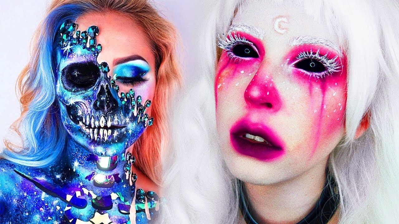 15 Cool Diy Halloween Makeup Ideas Grwm Dyi Costumes 2018 In 2020 Halloween Makeup Diy Cute Halloween Makeup Halloween Makeup Diy Tutorial ▲ △ ▼ ▽ ▲ △ open me ▲ △ ▼ ▽ ▲ △ so so so sorry this video is super late, the majority of it has nothing to do with halloween anyways so i figured i would. pinterest