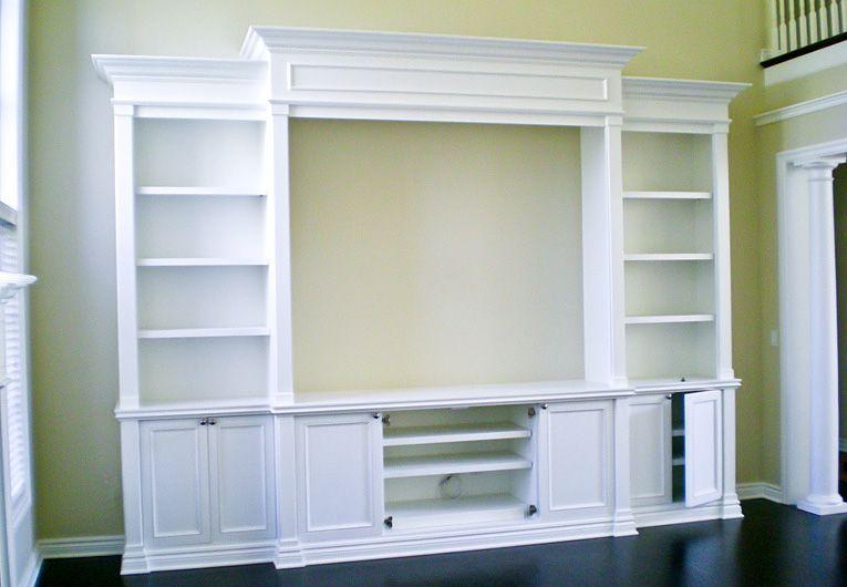 Google image result for for Media room built in cabinets