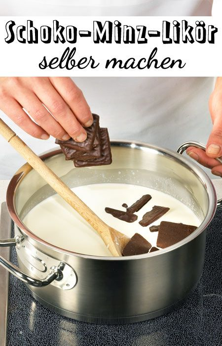 Photo of Make chocolate mint liqueur yourself – how it works