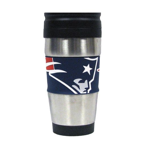 Patriots Stainless Steel Travel Mug Patriots New England Patriots Patriots Fans