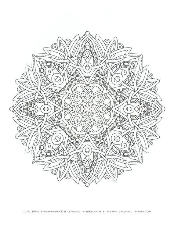 Coloriage De Mandala Pour Adulte.Mandala Pour Adulte De Multiples Insipirations Dans 11 Coloriages De