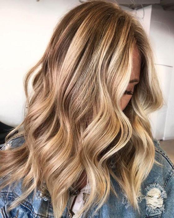Refleksy Blond