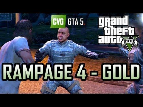 GTA 5: Trevor Takes on the Army [Rampage 4 - Gold] - http://goo.gl/jSNpW0