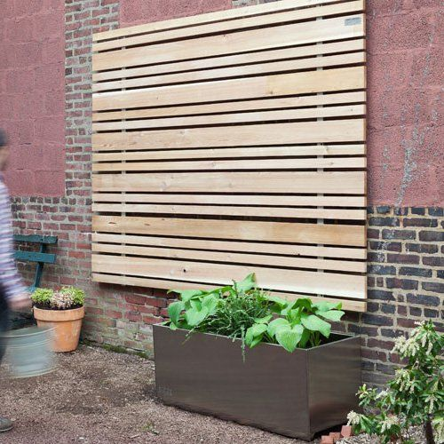 Find it at the Foundary - Buttonwood Slat Wall and Rain Screen