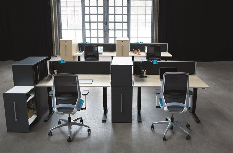 Oberon - Desks - Office furniture - Kinnarps | Office | Pinterest ...