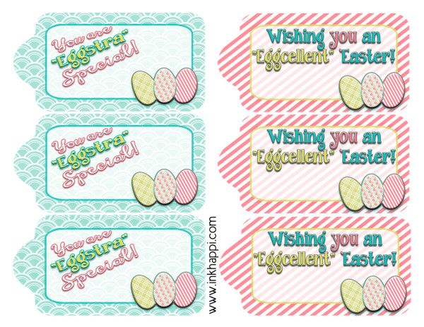 Easter gift tags to help wrap it pretty free printable easter easter gift tags to help wrap it pretty negle Images