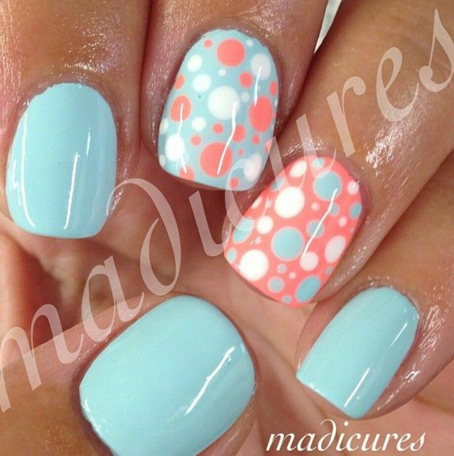 Cute spring and summer color | Fashion & Pretty nails | Pinterest ...