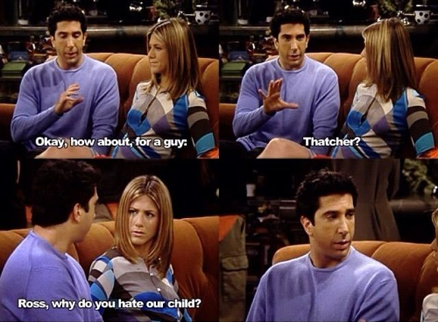 Ross and Rachel Friends tv show Funny quotes   Friends ...