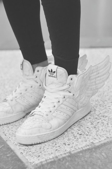 hot sale online 8564b eb957 Adidas wings, sneakers, shoes, decoration... I love the shoes, not so fond  of the wings hahaha