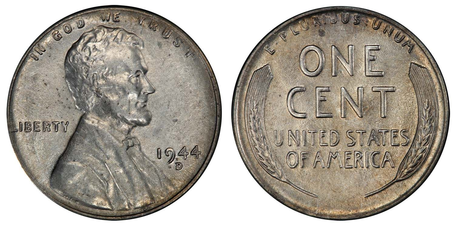 1944 D Steel Cent Pcgs Au55 Cac One Of The Rarest Of All Pennies Estimate 50 000 55 000 From Legend Mor Coins Worth Money Coin Collecting Valuable Coins