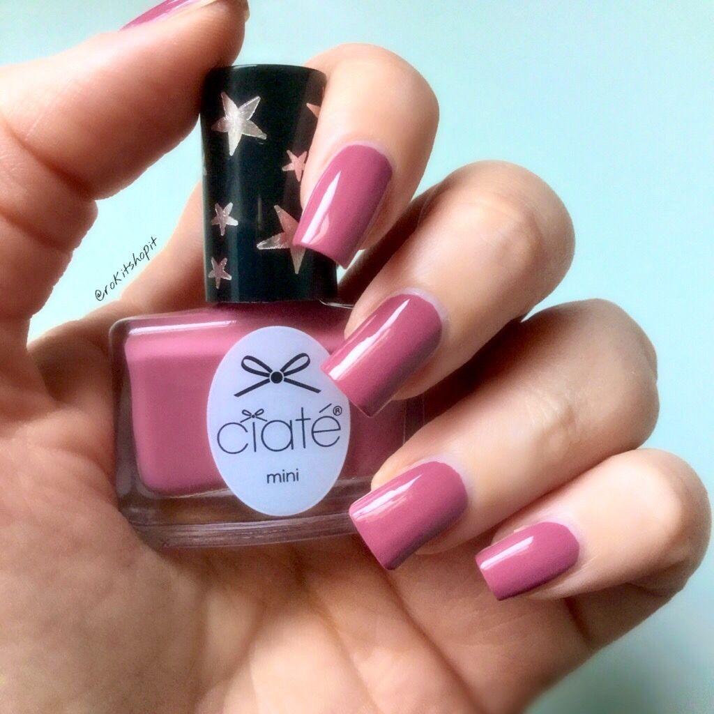 Ciate London mini pots Main Attraction pink nails | Nails ...