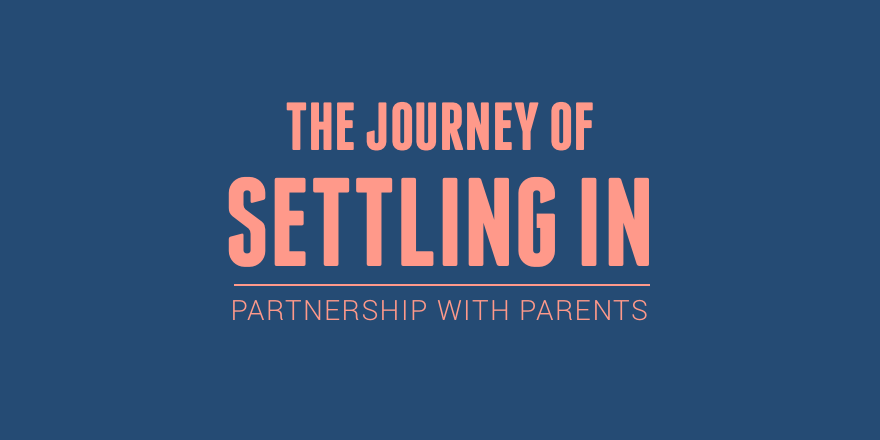 The journey of settling in — The Heart School