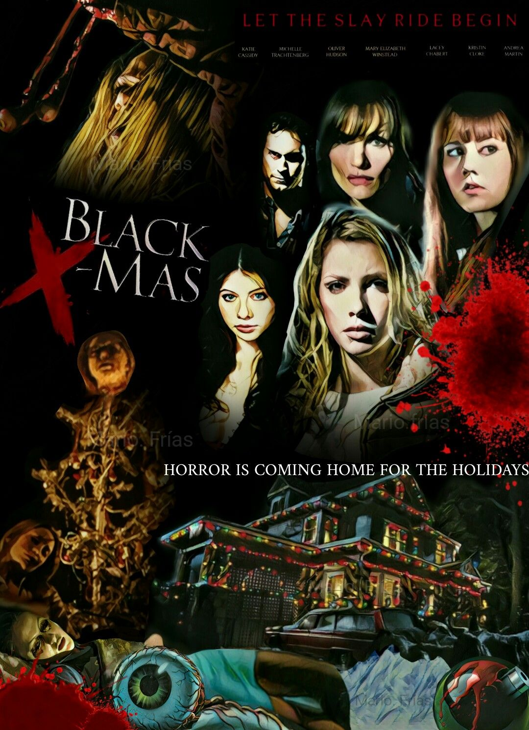 black christmas 2006 horror movie slasher fan made by mario frias - Black Christmas Movie