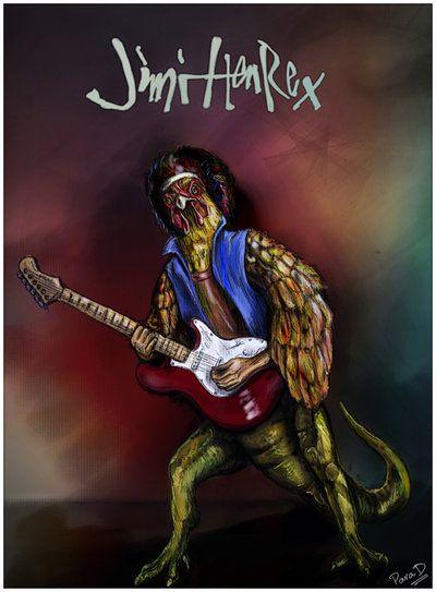 Jimi Hen Rex by ~globalsinner on deviantART