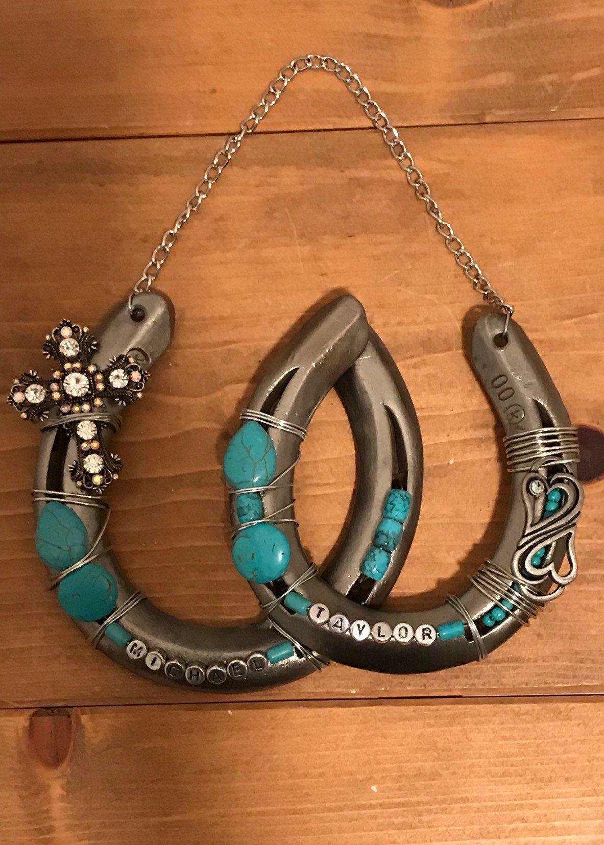 Wedding Gift Decorated Horseshoe Gift For Couple Good Luck