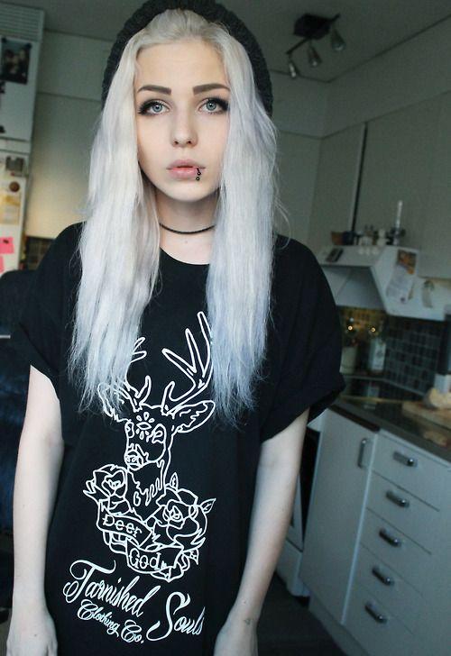 Tumblr girl selfie Emo teen