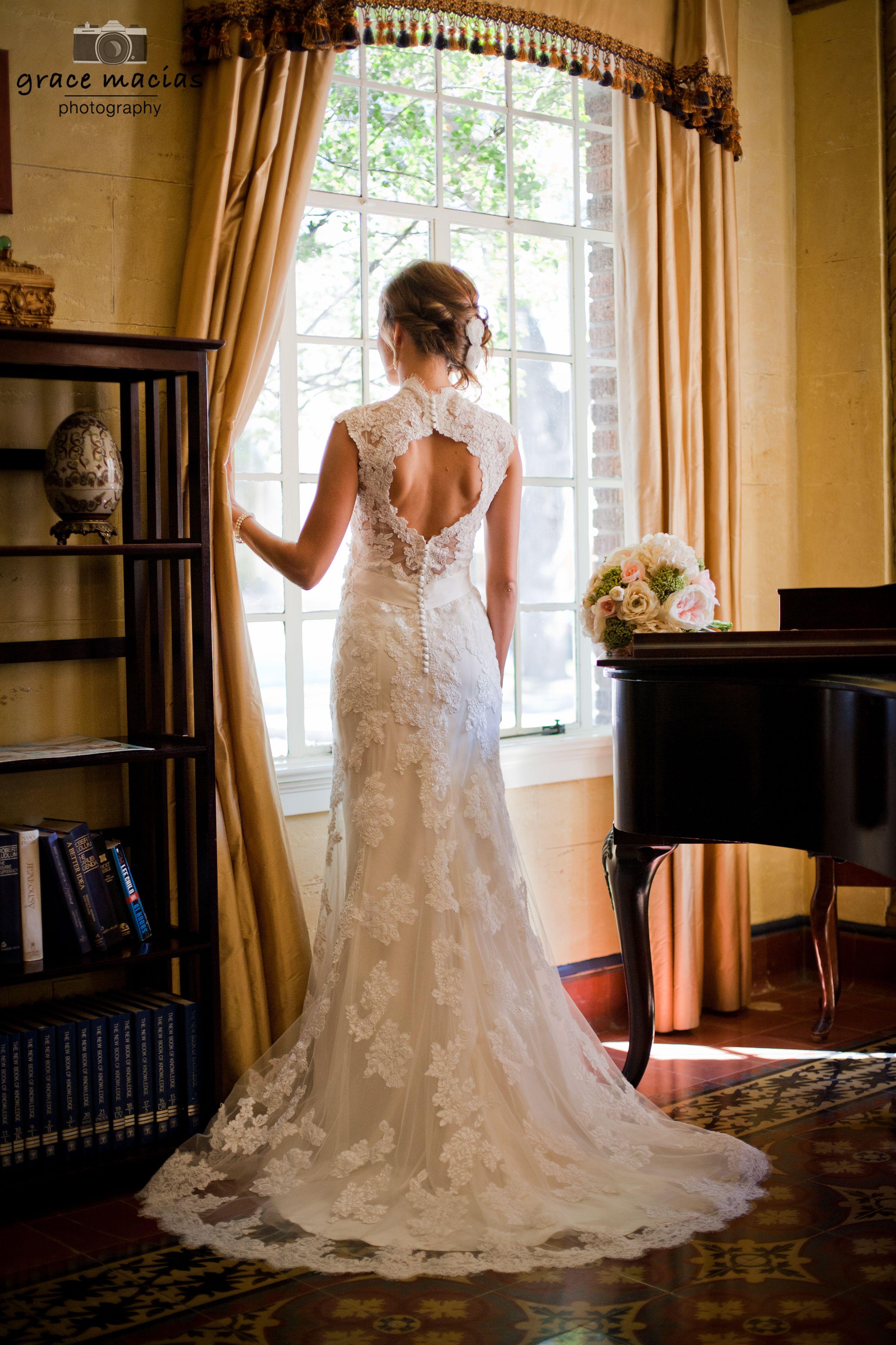 Bridal Portraits. Faust Hotel. Braunfels Tx. Grace