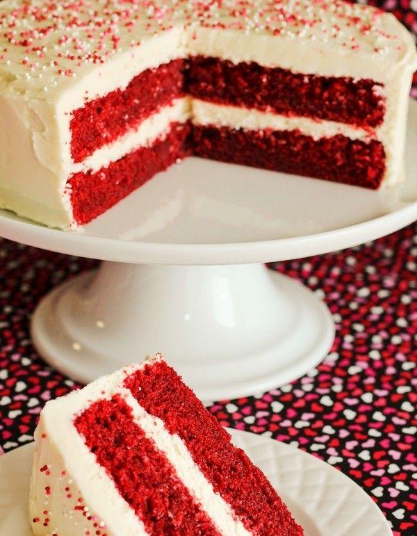 2013 Best Red Velvet Christmas Cake Christmas Red Velvet Cake