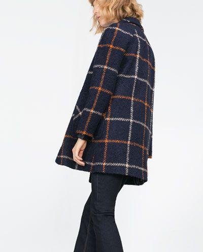 Image 2 de MANTEAU EN LAINE BOUCLÉE de Zara