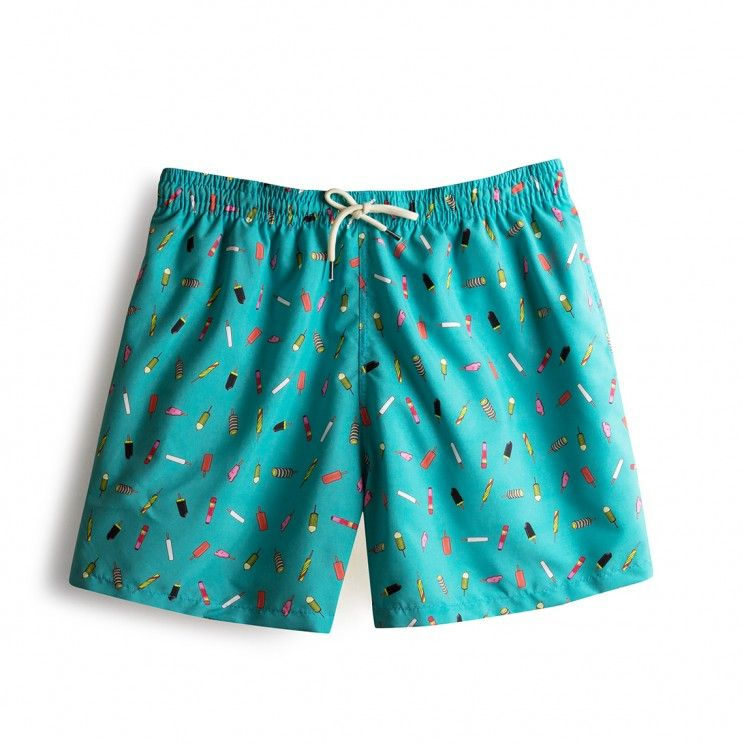 5f7151eb83 Swim short Green Ice Creams | Quotes in 2019 | Swim shorts ...