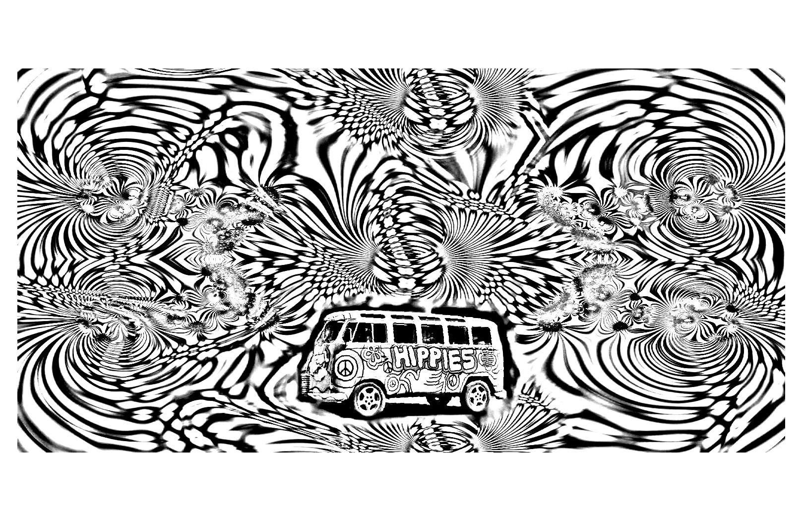 To print this free coloring page «coloring-psychedelic-4», click on ...
