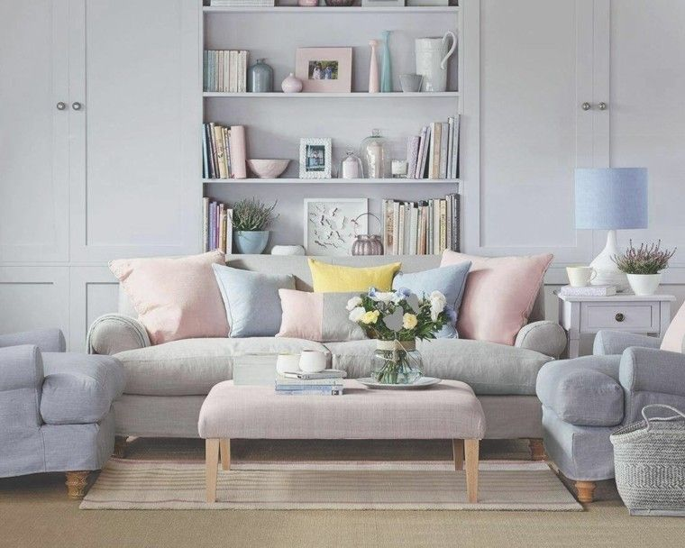 comment repeindre son salon avec couleurs pastel | living room