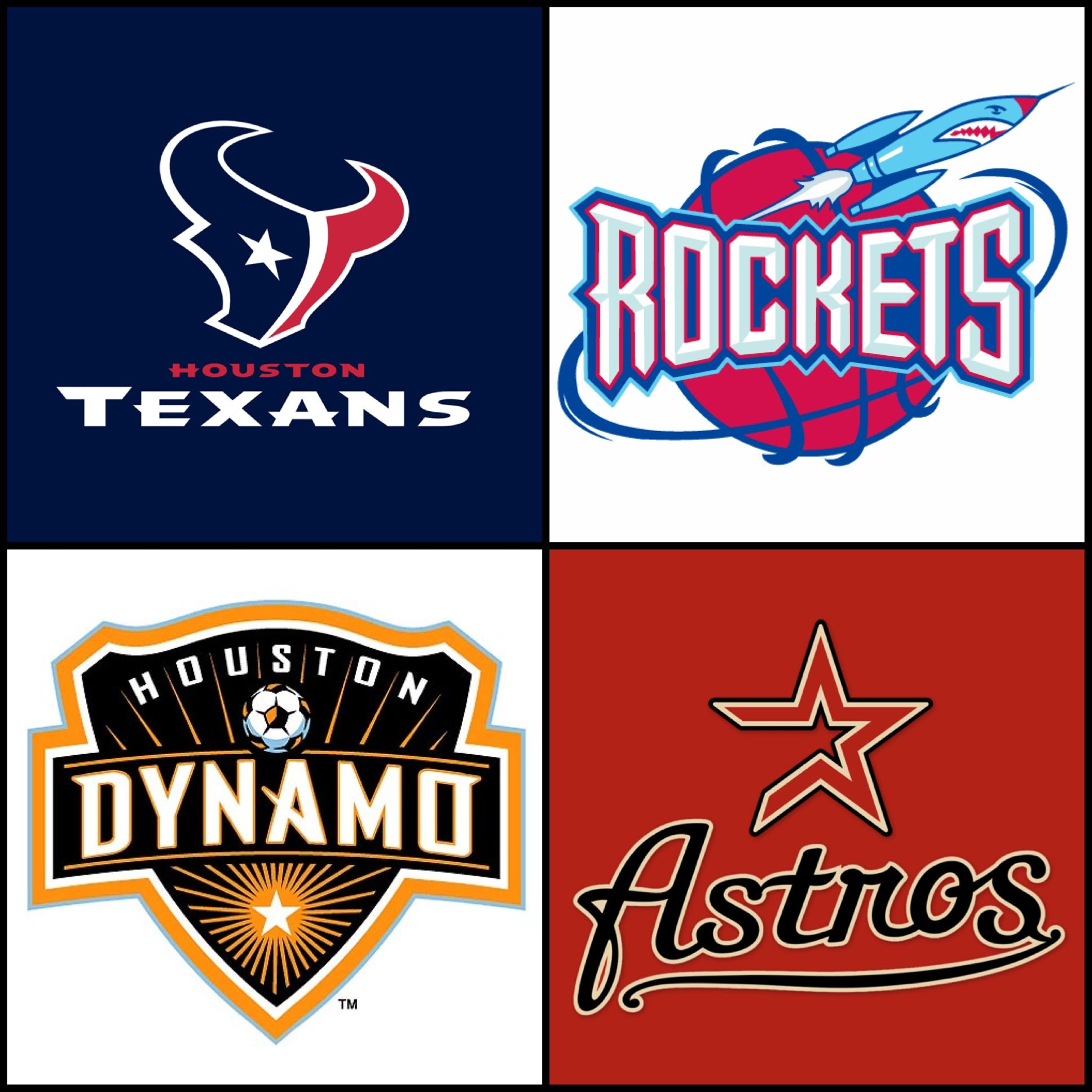 HOUSTON! WE ROCK!!! Texans Football, Rockets Basketball
