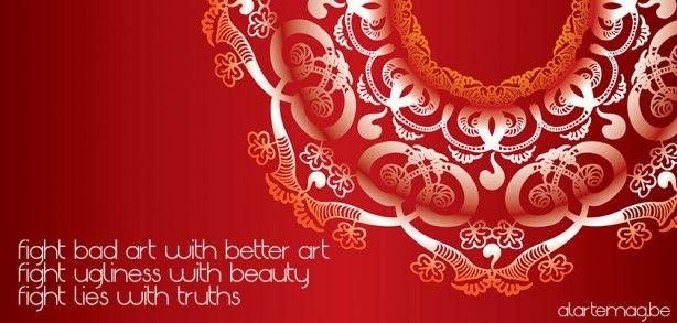 Fight bad art with better art!  #MelodyMoezzi #Arabic #Islamic #art