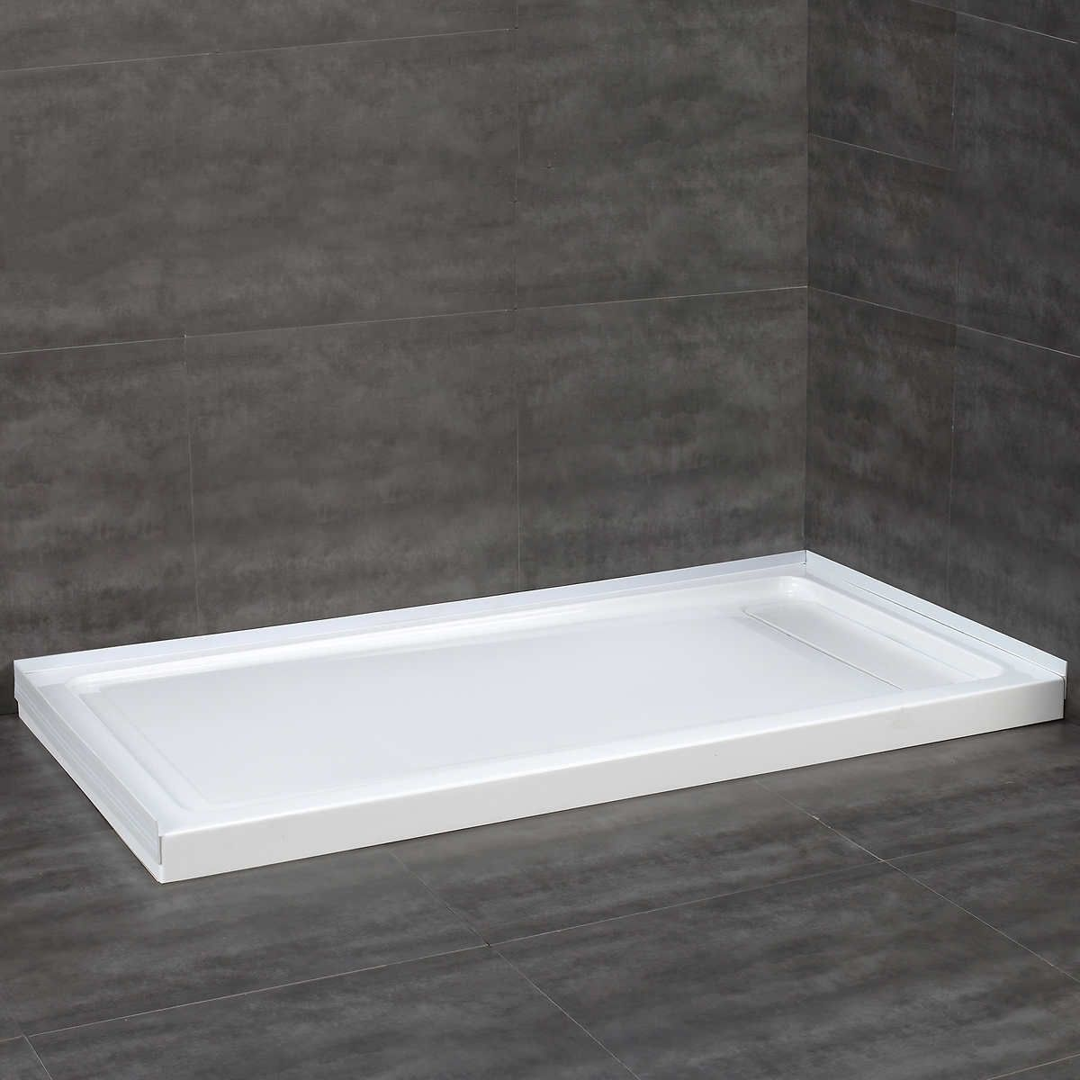 Costco Ove Decors Shower Base 32x60 And 36x72 279 Sizes Luxuryshoweraccessories Acrylic Shower Base Walk In Shower Small Bathroom