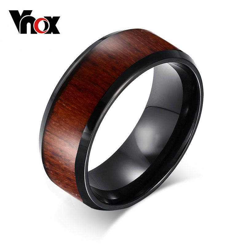 mens wedding rings top quality tungsten carbide rings engagement wood design - Wooden Wedding Rings For Men