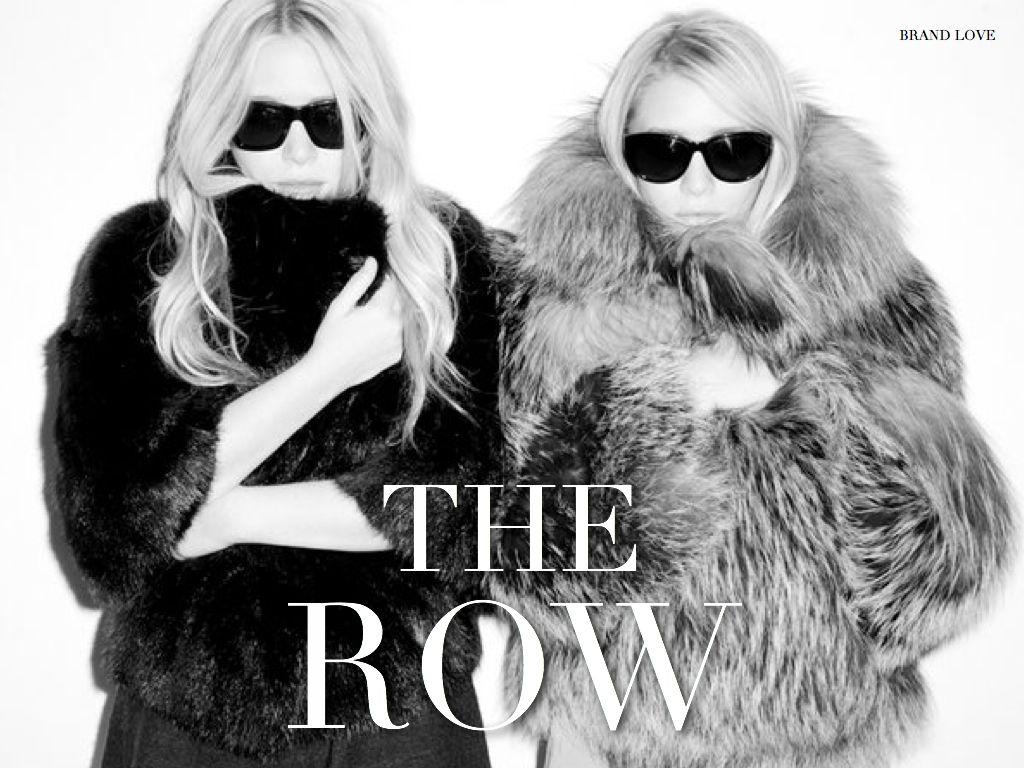 The Olsen twins - The Row. De grootste mode iconen. Klein van stuk maar groots in denken!