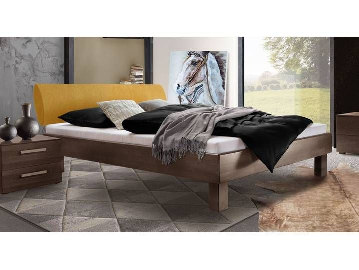 Bett 140x200 Cm In Buche Mit Ovalem Polster Kopfteil Cannelino Mas Mein Blog In 2020 Upholstered Headboard Furniture Formal Living Rooms