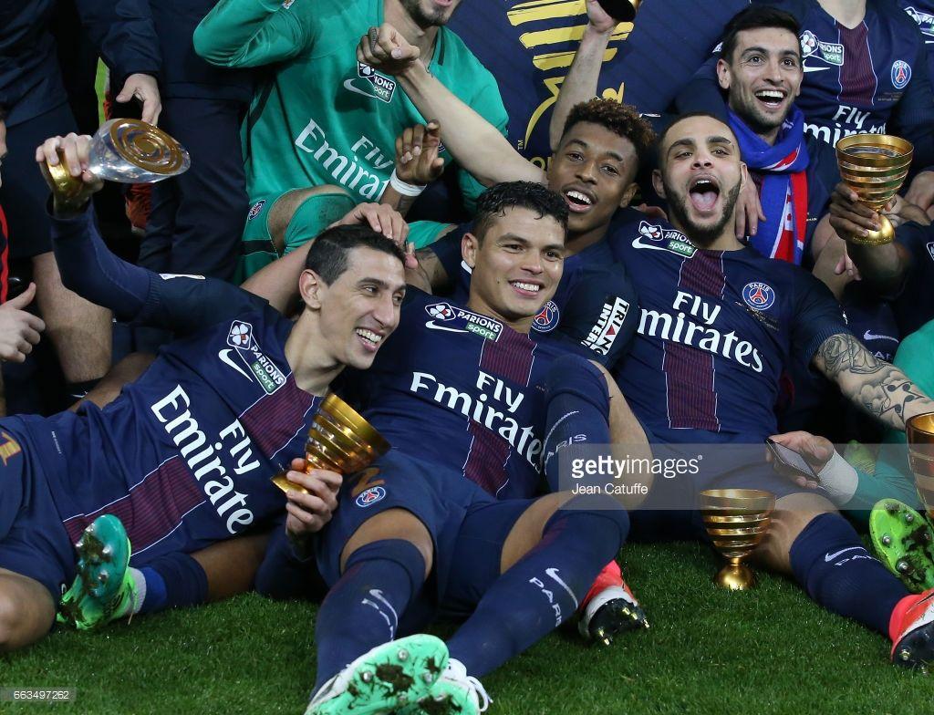 Paris SaintGermain v AS Monaco French League Cup Final