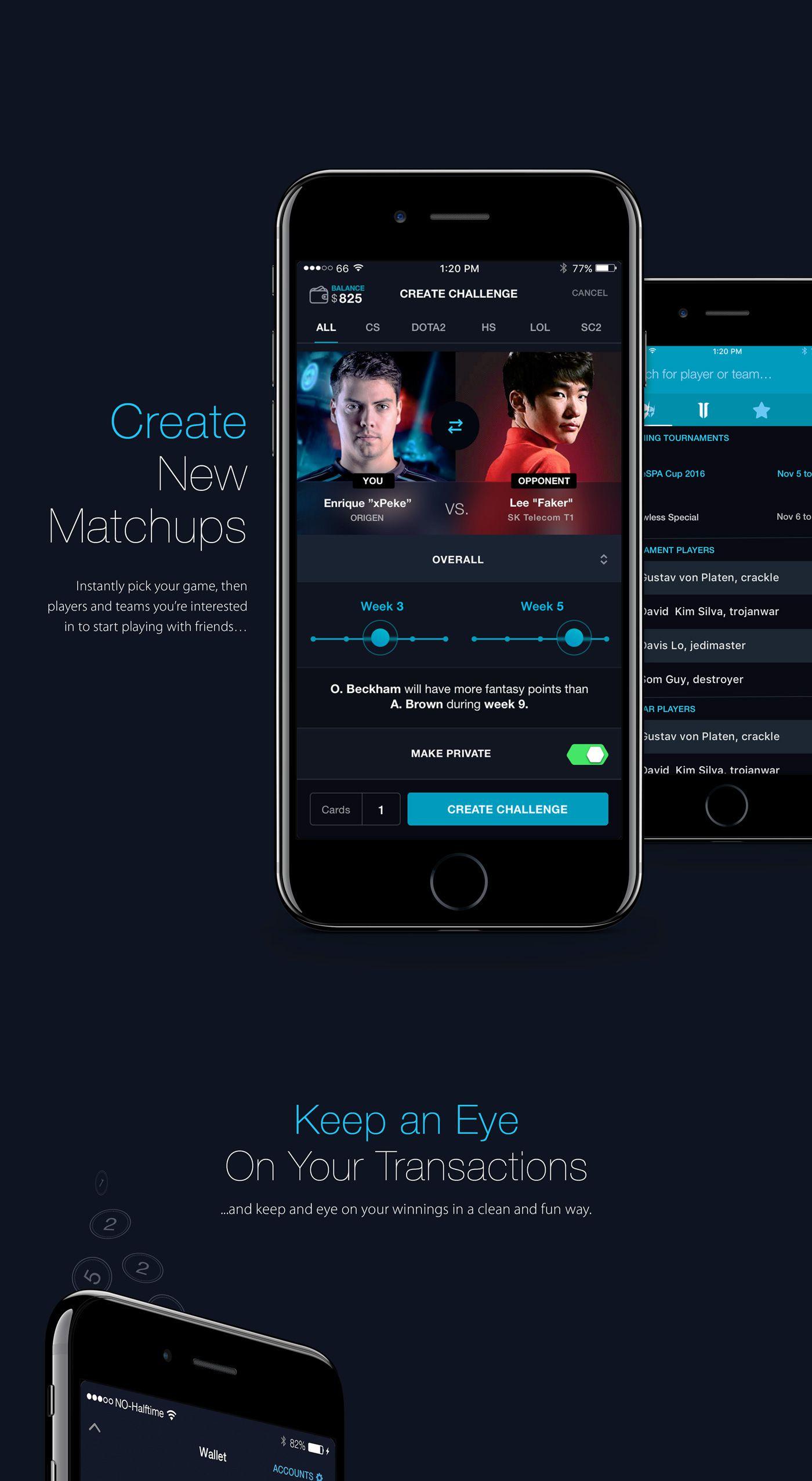 Flwless eSport Betting App on Behance App, App design