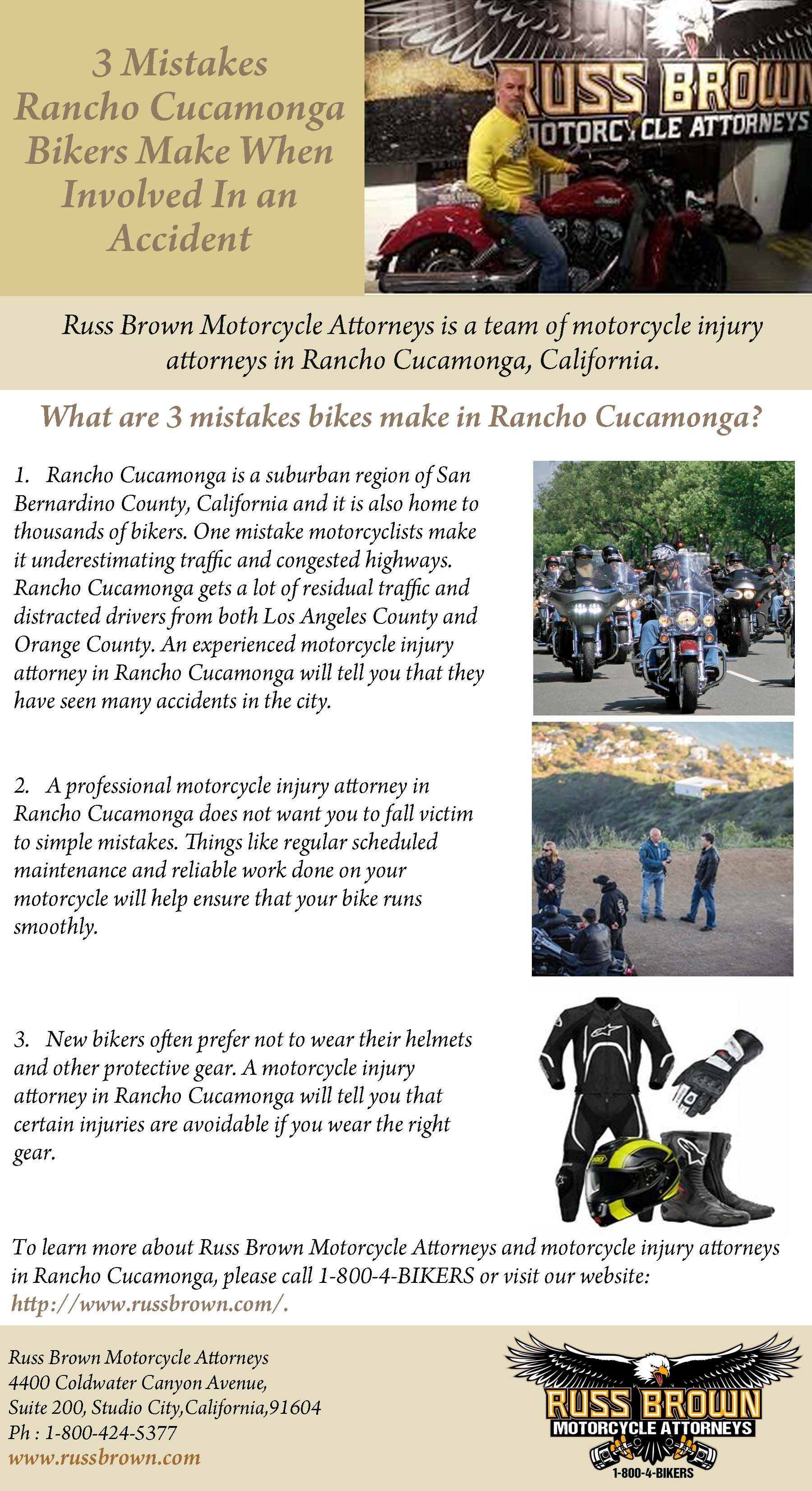 Russ Brown Motorcycle Attorneys is a team of motorcycle ...