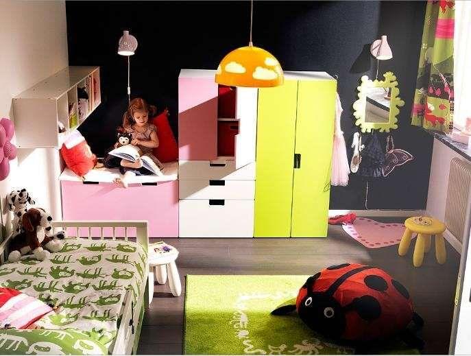 Cameretta Ikea Bambina : Camerette per bambini ikea catalogo cameretta ikea per