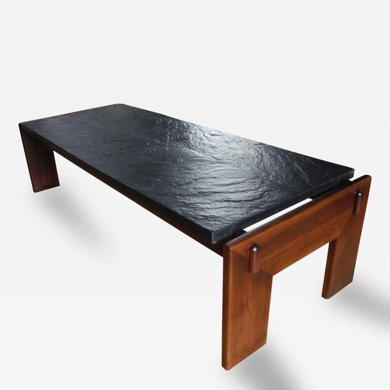 Image Result For Adrian Pearsall Slate Coffee Table With Images