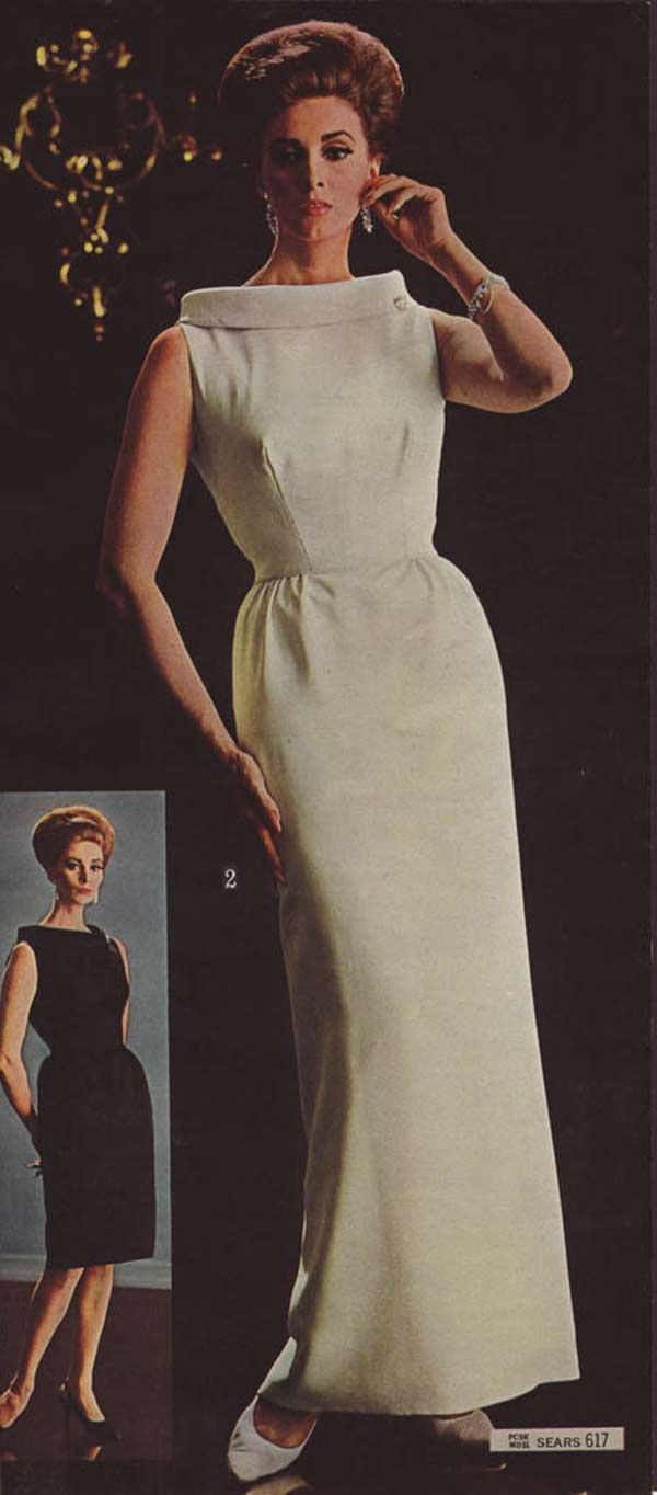 1960s Dresses Skirts Styles Trends Pictures Evening Dress Fashion 1960s Dresses Evening Dresses Vintage [ 1364 x 600 Pixel ]